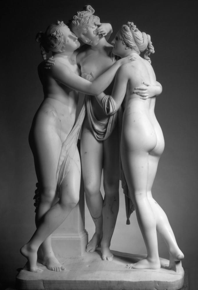 The Three Graces Canova_BW