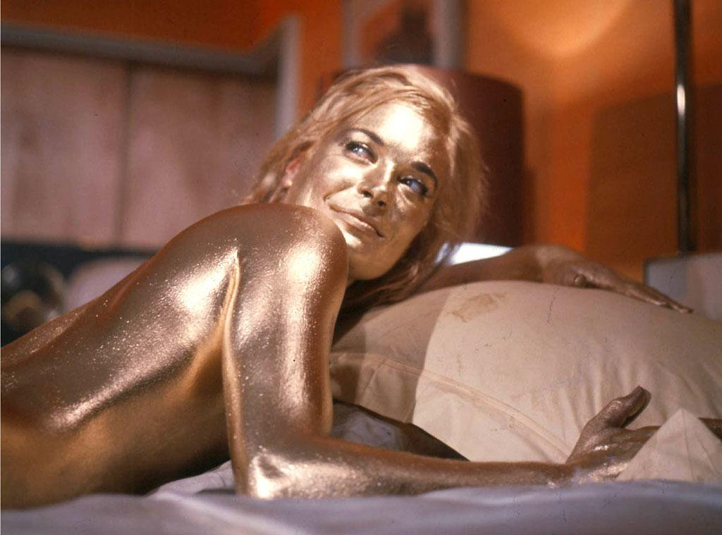 Shirley Eaton Goldfinger James Bond golden paint